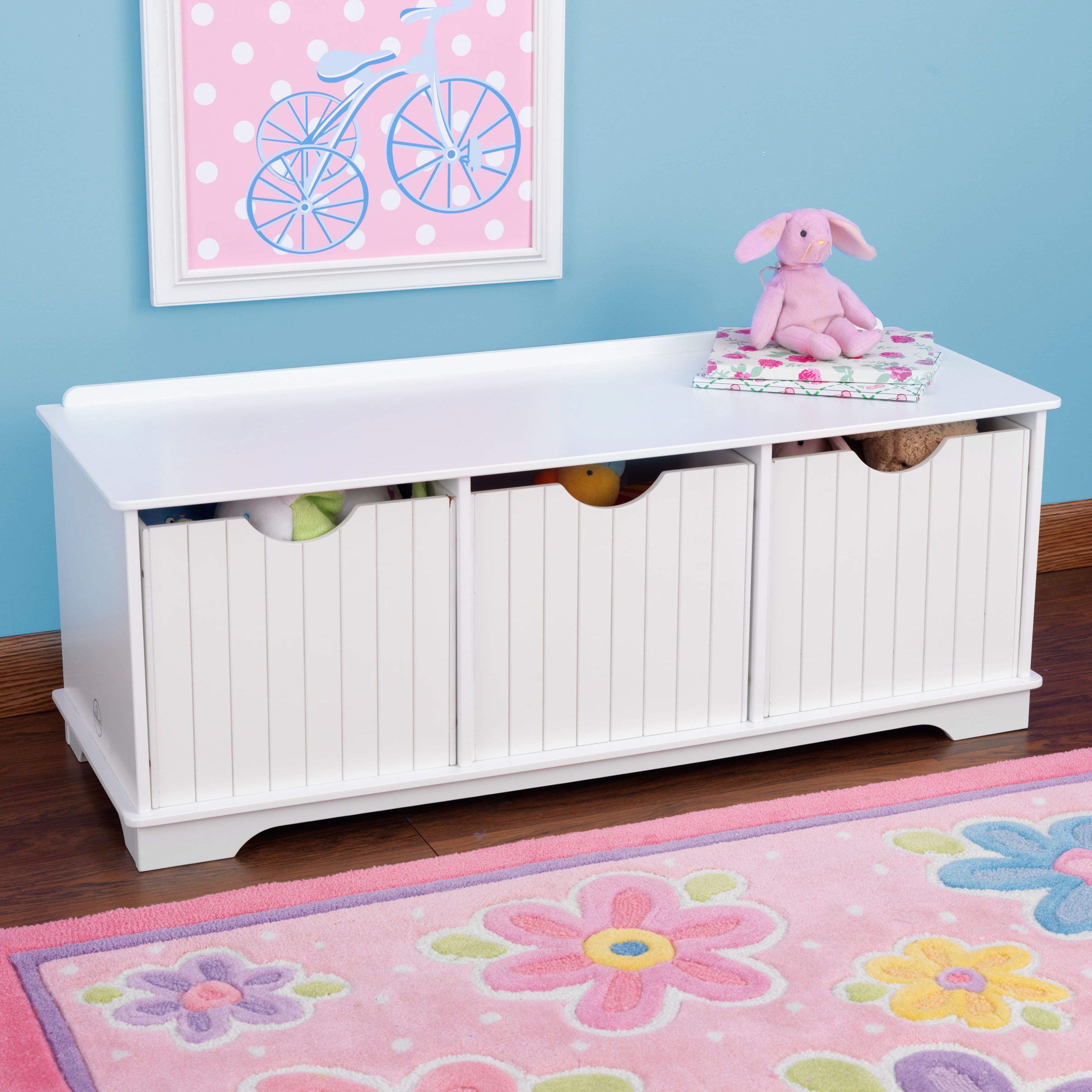 Kids Storage Bench Furniture Toy Box Bedroom Playroom: Children's Toys In South