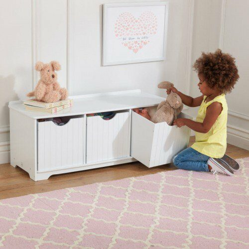 Nantucket Storage Bench White Children S Toys In South