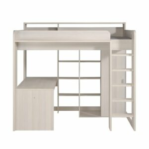 Reece Highsleeper Bed - Nordic Ash
