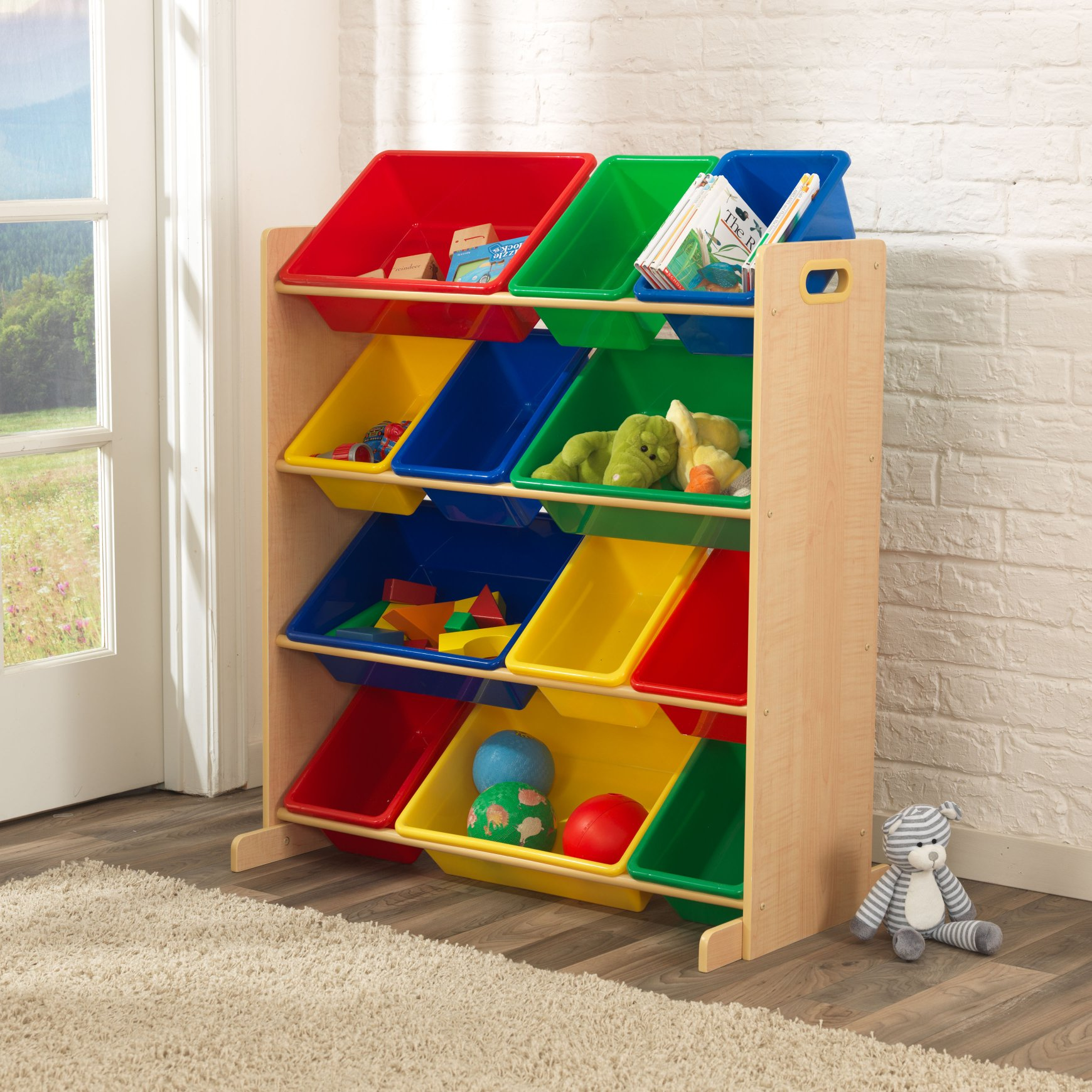 12 Bin Storage Unit Natural for children in South Africa
