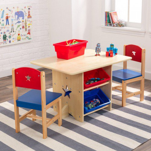 Star table 2 chair set for childrens playrooms in s a for Arts and crafts sets for kids