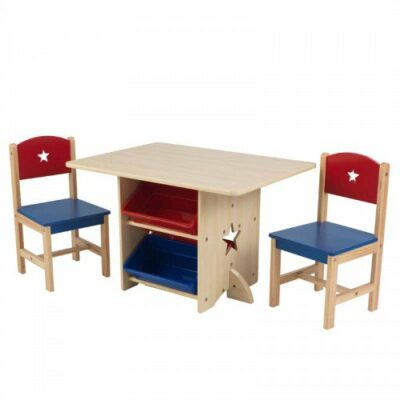 Star Table & 2 Chair Set by KidKraft
