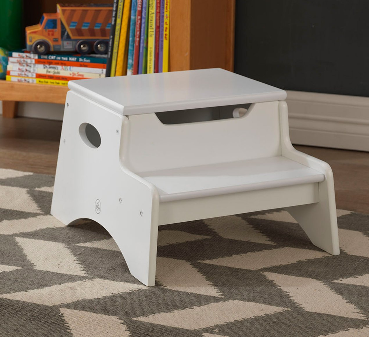 Step Amp Store Stool White For Children Amp Kids In S A