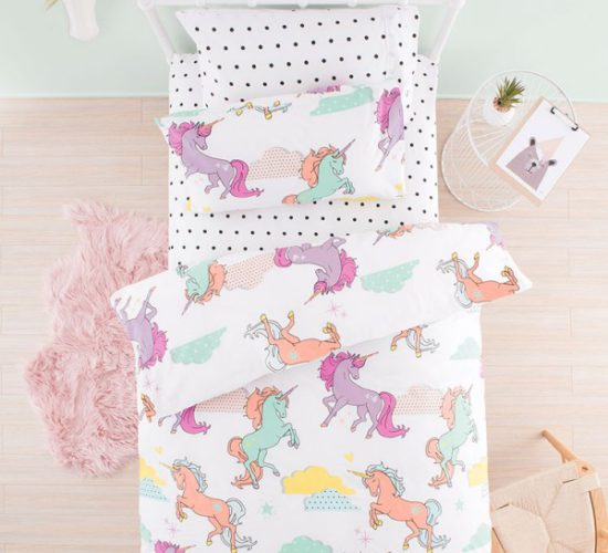 Unicorn Dreams Duvet Set (3/4)