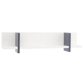 Very Useful Shelf Navy Little Folks Furniture Wall Storage White for Kids Kidsroom Children Bookshelf