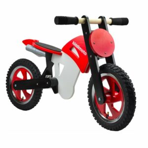 Scrambler Balance Bike - Red