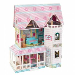 Abbey Manor Dolls House with Furniture