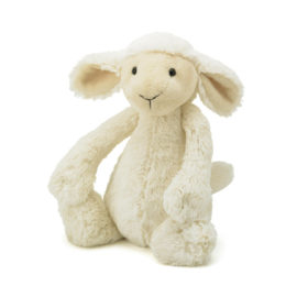 Bashful Cream Lamb Medium for Kids Babies Children Soft Toy Plush Jelly Cat