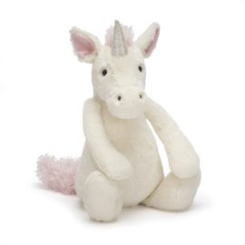 Bashful Unicorn Soft Toy Jelly Cats for Kids Babies Children Plush