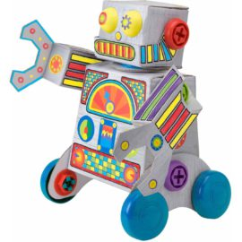 Build and Roll Robot Alex Toys for Kids Children Arts and Crafts Kit