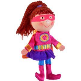 Girl Hero Tell a Tale Finger Puppet for Kids Children Pretend Play Toys Entertainer