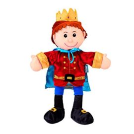 Prince Tell a Tale Hand Puppet for Kids Children Prented Play Toys Entertainer