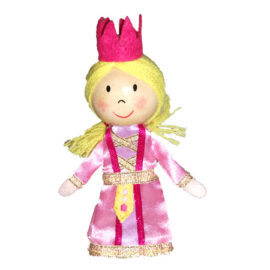 Princess Tell a Tale Finger Puppet for Kids Children Pretend Play Toys Entertainer