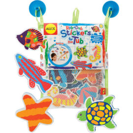 Rub a Dub Stickers for the Tub Bath Scene Beach Bath Toys Alex Kids Children