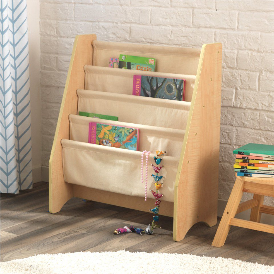 Sling Bookcase Natural For Children In S A