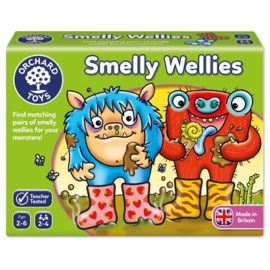 Smelly Wellies Game for Kids Children Orchard Toys
