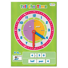 Tell the Time Magnetic Fun Learning for Kids Children Education