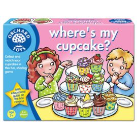 Wheres My Cupcake Game for Kids Children Orchard Toys