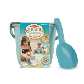 Beach Memories Sand Casting Kit Toy Kids Children Craft Seaside Melissa & Doug Craft Creative Bucket