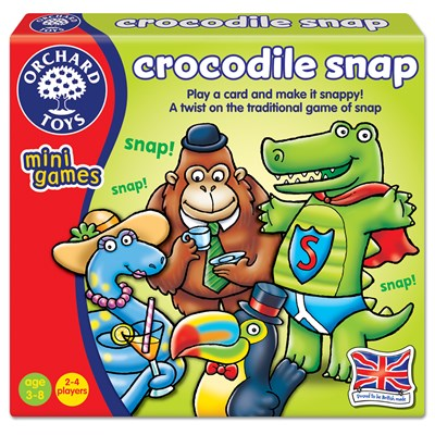 Crocodile Snap Game