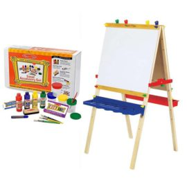 Deluxe Art Easel and Accessory Set for Arts adn Crafts Painting for Kids Children