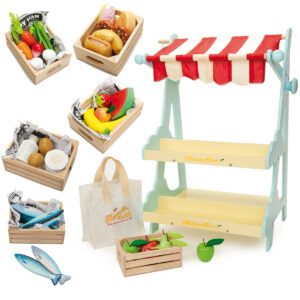 5 Fruits A Day Wooden Set