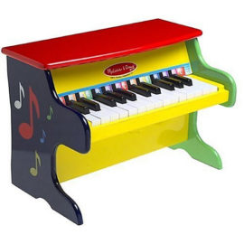 Learn to Play Piano Melissa & Doug Wooden Music for Kids Children Fun Learning Musical Toys Gift