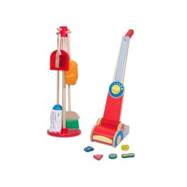Lets Play House Dust Sweep and Mop Vacuum Cleaner for Kids Children Pretend Play Melisssa & Doug