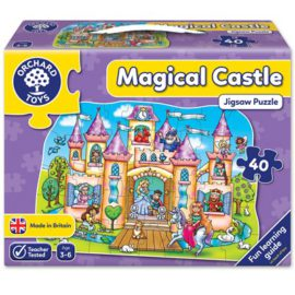 Magical Castle Jigsaw Puzzle for Kids Children Games Orchard Toys