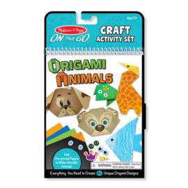 Origami Animals Paper Craft Arts and Crafts Creative Fun Kids Children On the Go Fun