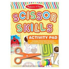 Scissor Skills Activity pad for Kids Children Fun Learning Arts and Crafts Cutting Melissa & Doug