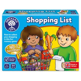 Shopping List Game for Kids Children Orchard Toys