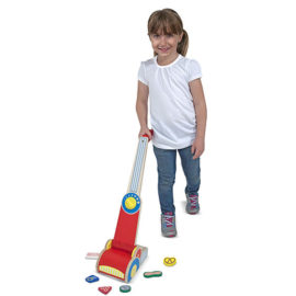 Vacuum Cleaner Lets Play House Pretend Play Kids Children Wooden Toys Melissa & Doug