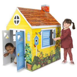 Country Cottage Indoor Playhouse Kids Children Toys Fun Pretend Play