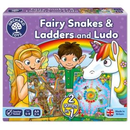 Fairy Snakes and Ladders and Ludo Board Games for Kids Children Toys Orchard Toys