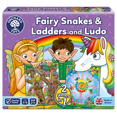 Fairy Snakes and Ladders & Ludo