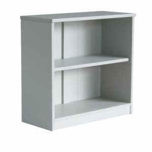 Fargo Storage Bookcase, Solid Wood - Farleigh Grey  by Little Folks