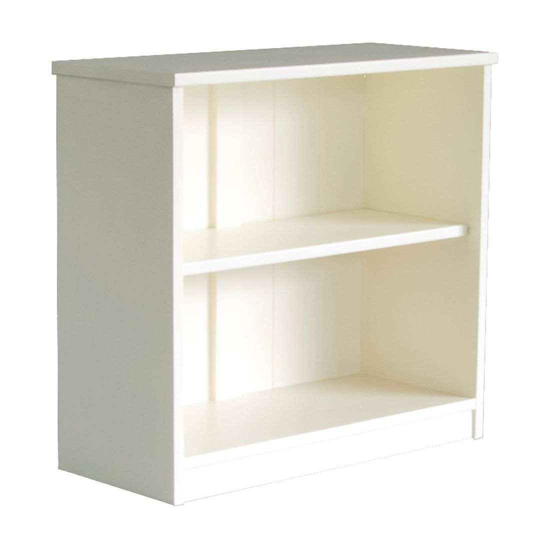 Fargo Storage Bookcase Ivory White By Little Folks For