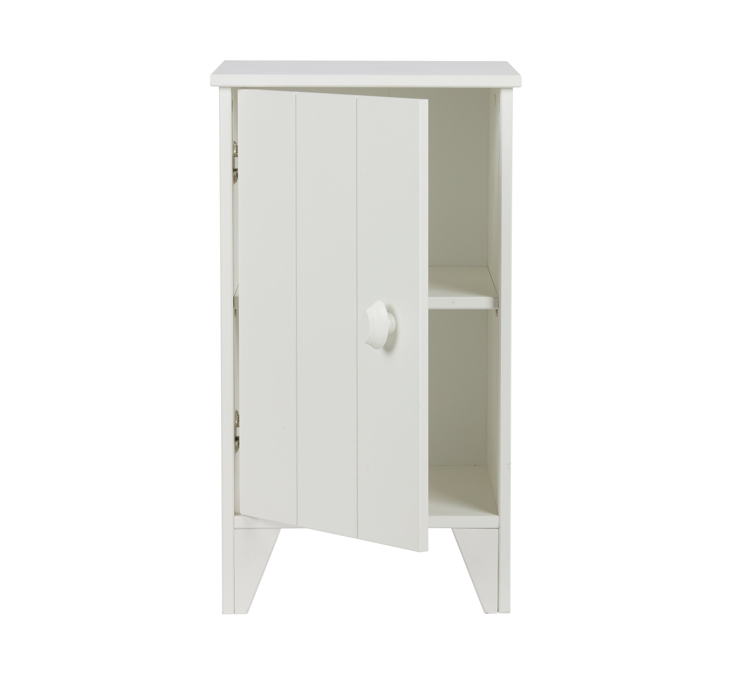 Nikki Nightstand Solid Wood White For Children In Sa