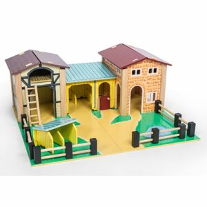 The Wooden Farmyard by Le Toy Van
