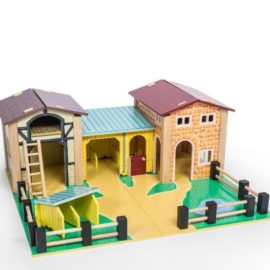 The Farmyard Pretend Play for Kids Children Wooden Toys Le Toy Van