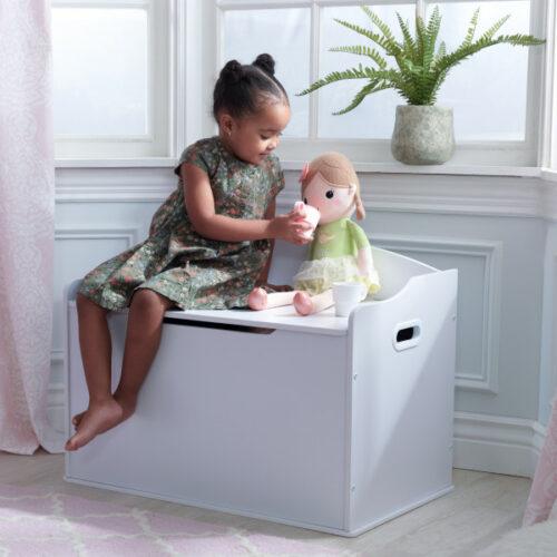 Classic Toy Box - White