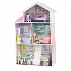 Glendale Manor Dolls House with Furniture