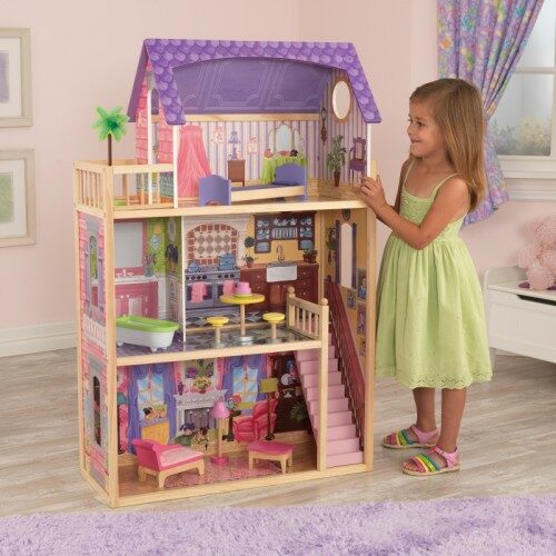 Kayla Dolls House with Furniture