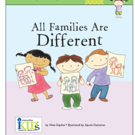 All Families are Different Book for Kids Children Reading Innovative Kids Nora Gaydos