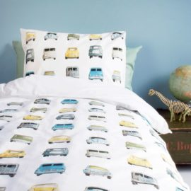 Cars Duvet Set for Kids Pure Cotton Bedding Kidsroom Single Vehicles