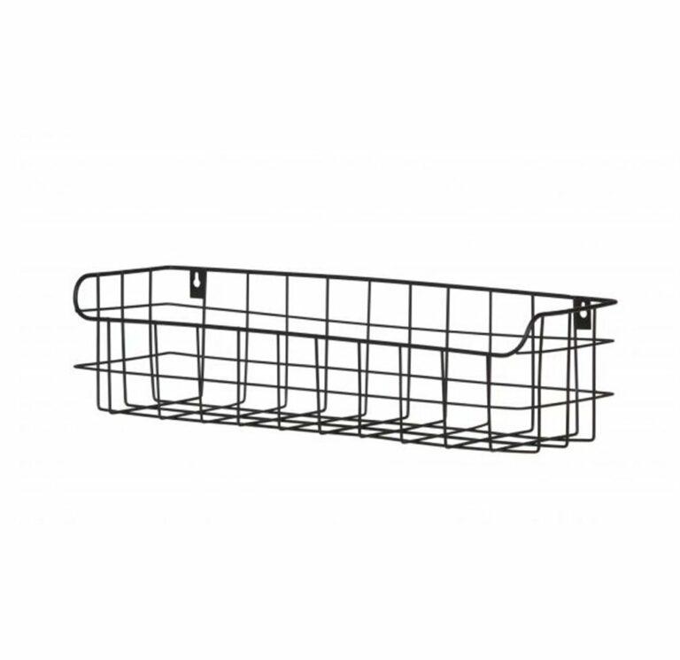 lucien metal wall rack 50cm
