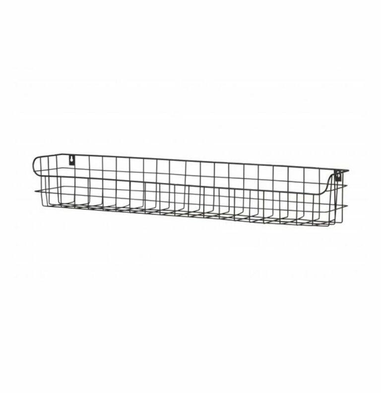 lucien metal wall rack 80cm