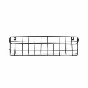 Lucien Metal Wall Rack (50cm) - Black