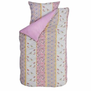 Robin Rose Duvet Set - Pink (Single)